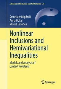 Nonlinear Inclusions and Hemivariational Inequalities
