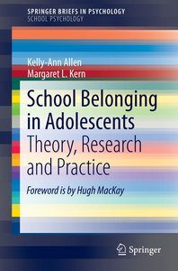 School Belonging in Adolescents