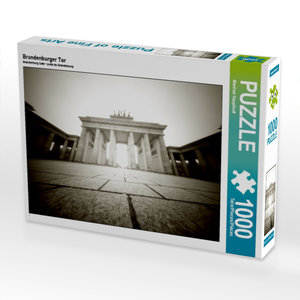 Brandenburger Tor 1000 Teile Puzzle quer
