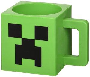 Minecraft Creeper Tasse im Block Design, 290ml, grün