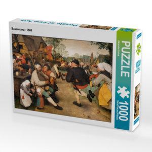 CALVENDO Puzzle Bauerntanz - 1568 1000 Teile Lege-Größe 64 x 48