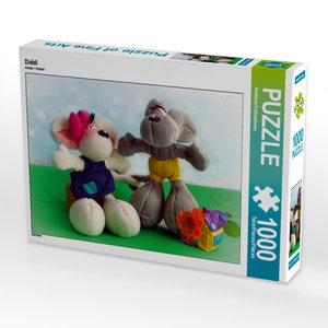 CALVENDO Puzzle Diddl 1000 Teile Lege-Größe 64 x 48 cm Foto-Puzz