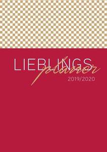 Lehrerkalender 2019/2020 - im Format DIN A4 im eleganten Bordeau