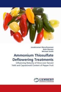 Ammonium Thiosulfate Deflowering Treatments