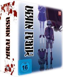 Mirai Nikki - Blu-ray 1 mit Sammelschuber (Limited Edition)