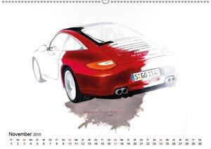 50 Jahre Porsche 911 (Wandkalender 2019 DIN A2 quer)