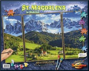 Schipper 609260760 - Malen nach Zahlen, St. Magdalena in Südtiro