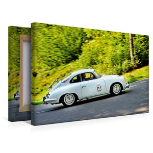 Premium Textil-Leinwand 45 cm x 30 cm quer Porsche 356 C - 1964