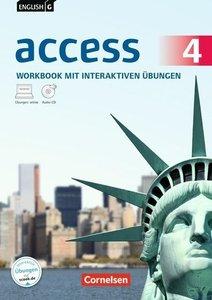 Band 4: 8. Schuljahr - Allgemeine Ausgabe - Workbook mit CD-ROM