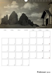 Drei Zinnen - Das Wahrzeichen Südtirols (Wandkalender 2019 DIN A