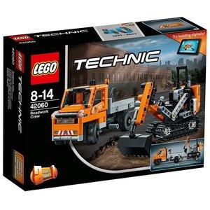 LEGO® Technic 42060 - Straßenbau-Fahrzeuge