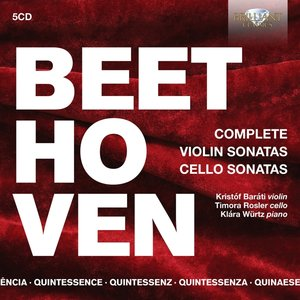 Beethoven:Complete Violin & Cello (QU)