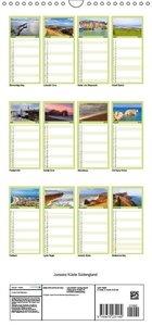 Jurassic Küste - Südengland - Familienplaner hoch (Wandkalender