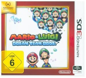 Mario & Luigi: Dream Team Bros., Nintendo 3DS-Spiel