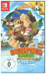 Donkey Kong Country, Tropical Freeze, 1 Nintendo Switch-Spiel