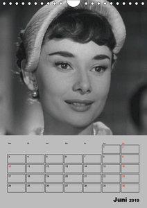 Hollywood-Diva. Audrey Hepburn (Wandkalender 2019 DIN A4 hoch)