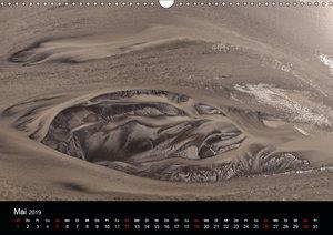 Flusslandschaften Islands aus der Luft (Wandkalender 2019 DIN A3