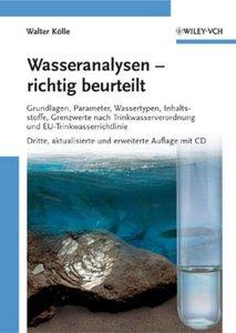 Wasseranalysen - richtig beurteilt