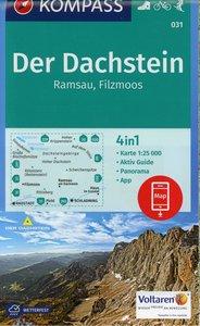 Der Dachstein, Ramsau, Filzmoos 1:25 000