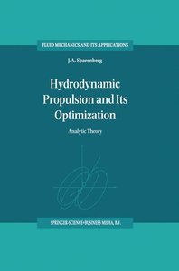 Hydrodynamic Propulsion and Its Optimization
