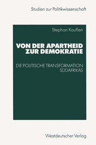 Von der Apartheid zur Demokratie