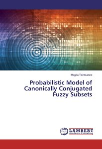 Probabilistic Model of Canonically Conjugated Fuzzy Subsets