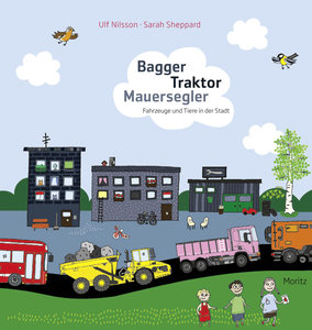 Bagger Traktor Mauersegler