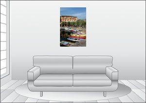 Premium Textil-Leinwand 60 cm x 90 cm hoch Torri