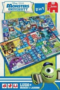 Disney Pixar - Monsters University - 2 in 1 Spiel - Ludo und Lei
