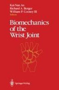 Biomechanics of the Wrist Joint