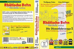 Rhätische Bahn - Die Dienstfahrzeuge Teil 1