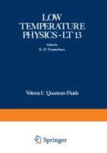 Low Temperature Physics-LT 13