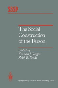 The Social Construction of the Person