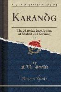 Karanòg, Vol. 6
