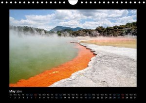 New Zealand - The most beautiful places (Wall Calendar 2018 DIN