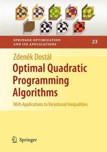 Optimal Quadratic Programming Algorithms