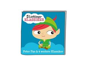 01-0177 Tonie-5 Lieblings-Klassiker - Peter Pan und weitere Klas