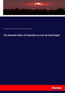 The Spanish letter of Columbus to Luis de Sant\'Angel