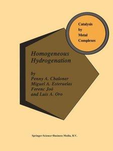 Homogeneous Hydrogenation