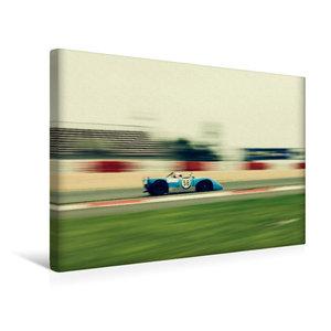 Premium Textil-Leinwand 45 cm x 30 cm quer Supersports Racing