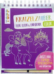 Kratzelzauber Color Feen, Elfen & Einhörner