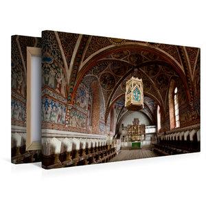 Premium Textil-Leinwand 45 cm x 30 cm quer Kloster Wienhausen, N