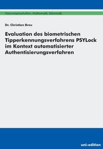 Evaluation des biometrischen Tipperkennungsverfahrens PSYLock im