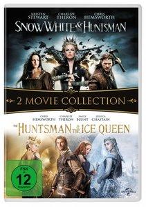 Snow White & the Huntsman / The Huntsman & The Ice Queen, 2 DVD