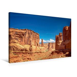 Premium Textil-Leinwand 75 cm x 50 cm quer Arches NP