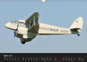 Doppeldecker - Veteranen der Lüfte (Wandkalender 2019 DIN A3 que