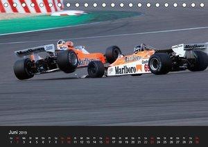 Historic Formula One 2019 (Tischkalender 2019 DIN A5 quer)