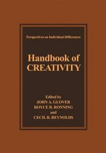Handbook of Creativity