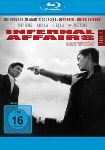 Infernal Affairs. Tl.1, 1 Blu-ray