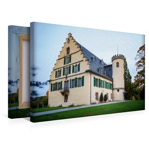 Premium Textil-Leinwand 45 cm x 30 cm quer Schloss Rosenau